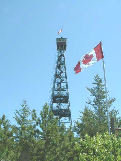 Ontario Fire Lookout Picture